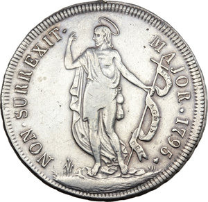Reverse image of coin 706