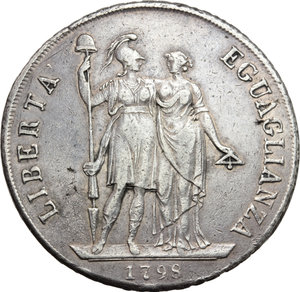 Reverse image of coin 708