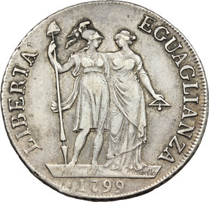 Reverse image of coin 709