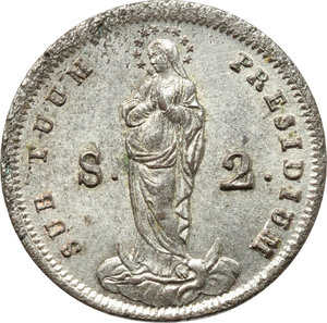 Reverse image of coin 711