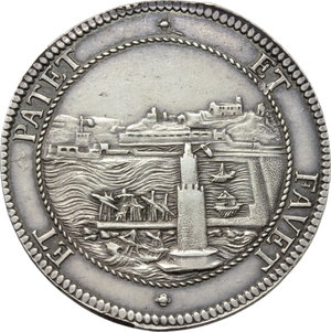 Reverse image of coin 714