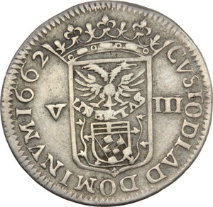 Reverse image of coin 718