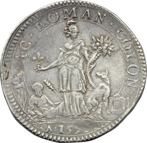 Reverse image of coin 763