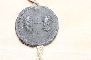 Reverse image of coin 801