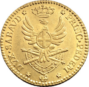 Reverse image of coin 830