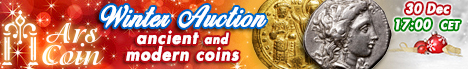 Banner Ars Coin Winter Auction '17