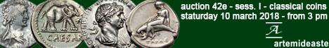 Banner Artemide 42E - Ancient Coins