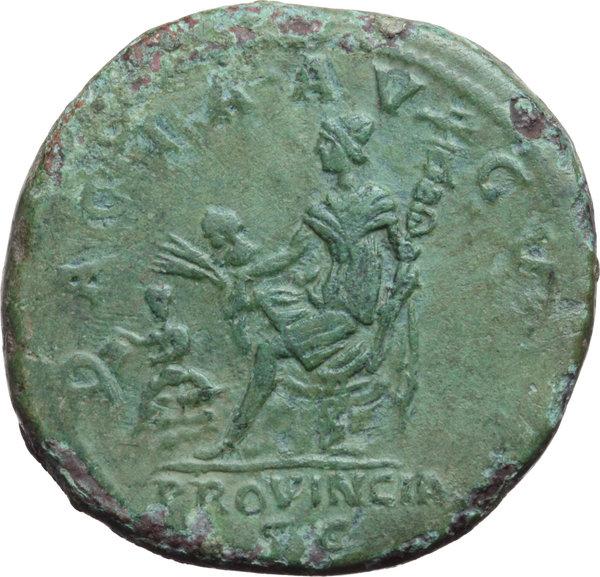 Artemide 42E - Ancient Coins: 346 - Trajan (98-117)  AE