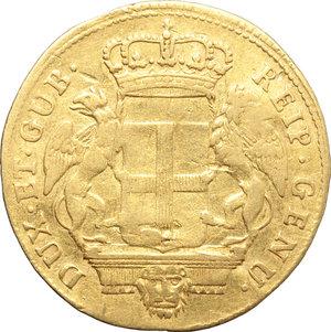 Genova  Dogi Biennali (1637-1797). 12 lire 1793