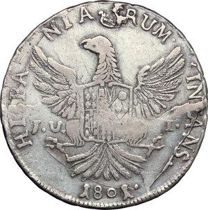 Palermo  Ferdinando III (1759-1816) 12 tarì 1801