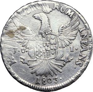 Palermo  Ferdinando III (1759-1816) 12 tarì 1803
