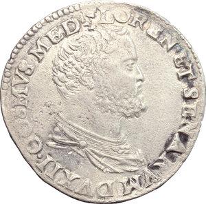 Siena  Cosimo I de  Medici (1557-1569) Testone