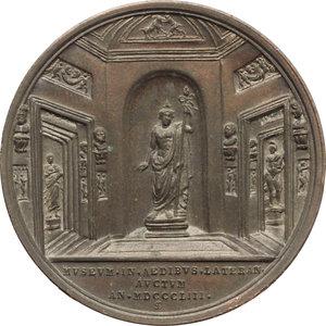 Pio IX  (1846-1878), Giovanni Mastai Ferretti Medaglia A. VIII.
