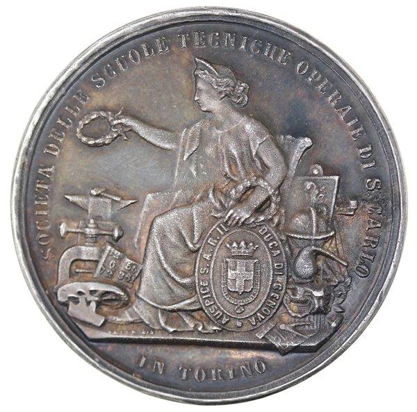 Medaglia Premio. Torelli Giovanni.   Dea Moneta