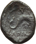 Reverse image of coin 10010