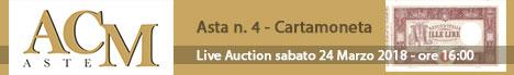 Banner ACM - Asta 4 - Cartamoneta
