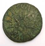 reverse: Impero Romano. Augusto. 43 a.C.-17 d.C. Asse. Ae. D/ CAESAR AVGVSTVS TRINVNIC POTEST Testa di Augusto verso destra. R/ C CASSIVS CELER IIIVIR AAAFF Intorno SC. RIC.376. Peso 10,63 gr. Diametro 28 mm. qBB. Patina.°°