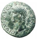 obverse: Impero Romano. Augusto 27 a.C. - 14 d.C. Asse. Ae. D/ Testa di Augusto verso sinistra DIVVS AVGVSTVS PATER. R/ PROVIDENT Altare tra SC. RIC.81 (Tiberio). Peso 11,40 gr. Diametro 27,70 mm. qSPL.