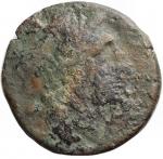 reverse: Mondo Greco -Apulia, Salapia.ca 225-210 a.C.Ae.D/ Testa di Apollo a destra. Davanti ΣAΛAΠINΩN.R/ Cavallo a destra. Sopra un tridente. Sotto ΠYΛΛOY.HN (Italy) 692.Pesogr. 7,15. Diametro mm.21,4.qBB.