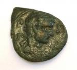 obverse: Impero Romano. Tiberio 14-37 d.C. Lucania. Paestum. Æ. D\ Testa di Tiberio verso destra. R\ vittoria stante con ramo di palma L LICINI II VI . SNG COP 1386. Peso 4,06 gr. Diametro 14,00 mm. BB. Patina verde. R. °°