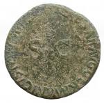 reverse: Impero Romano -Germanico, figlio di Nerone Claudio Druso e Antonia (deceduto nel 19 d.C.).Asse, emesso da Caligola. Ae. D/ GERMANICVS CAESAR TI AVGVST F DIVI AVG N. Testa nuda a sinistra.R/ C CAESAR AVG GERMANICVS PON M TR POT intorno a grande SC.RIC (Gaius) 35. Peso gr. 10,29. BB-qBB. Patina verde chiaro.