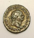 obverse: Impero Romano. Vespasiano. 69-79 d.C. Denario. D/ DIVVS AVGVSTVS VESPASIANVS Testa laureata verso destra. R\ Scudo retto da due capricorni sotto globo. RIC.357. Peso 2,78 gr. Diametro 17,80 mm. BB.°° .
