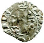 obverse: Zecche Italiane. L Aquila. Ludovico I d Angiò Pretendente. 1382-1384. Bolognino. AG. CNI 13 var. D.A. 6 var. MIR 49. Peso gr. 1.00. qBB. NC.
