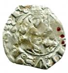 reverse: Zecche Italiane. L Aquila. Ludovico I d Angiò Pretendente. 1382-1384. Bolognino. AG. CNI 13 var. D.A. 6 var. MIR 49. Peso gr. 1.00. qBB. NC.