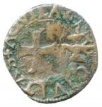 obverse: Zecche Italiane. L Aquila. Carlo VIII. 1495. Cavallo. AE. D Andrea/Andreani 138. Peso gr. 1,80. BB.
