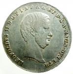 obverse: Zecche Italiane. Firenze. Leopoldo II di Lorena. 1824-1859. Francescone 1856. AG. MIR 449/3. Peso gr. 27.28. BB/BB+.