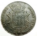 reverse: Zecche Italiane. Firenze. Leopoldo II di Lorena. 1824-1859. Francescone 1856. AG. MIR 449/3. Peso gr. 27.28. BB/BB+.