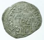 reverse: Zecche Italiane. Modena. Francesco I d Este. 1629-1658. Muraiola. MIR 800. Peso 1,10 gr. Diametro 20,17 mm. qBB. R.