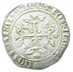 reverse: Zecche Italiane. Napoli. Carlo II d Angiò. 1285-1309. Gigliato. AG. MIR 24. P.R. 3. Peso gr. 3.95. Bel BB+. NC.