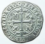 reverse: Zecche Italiane. Napoli \Provenza. Roberto d Angiò. 1309-1343. Gigliato. Ag. P.R. 2. Peso gr 4,00. Diametro mm 28. SPL. Patina. NC.