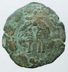 reverse: Zecche Italiane. Napoli. Filippo IIII. 1621-1655. Tornese con il tosone. Data indistinguibile. Peso 4,80 gr. Diametro 25,00 mm. MB+.§
