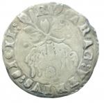 reverse: Zecche Italiane. Napoli. Carlo V. 1516-1556. Carlino. AG. P.R. 36c. MIR 148/3. Peso gr. 2.91. BB. NC.
