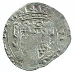 reverse: Zecche Italiane. Parma. Ranuccio II Farnese. 1646-1694. 5 soldi o cinquina. MI. MIR 1044. Peso 1,75gr. BB\SPL.*
