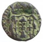 obverse: Zecche Italiane. Parma. Antonio Farnese. 1727-1731. Sesino. AE. MIR 1054. Peso gr. 1.02. BB. RR. *