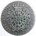 reverse: Zecche Italiane. Parma. Ferdinando di Borbone. 1765-1802. Ducato 1796. Ag. MIR 1070/1. Peso 25,00 gr. MB\BB.*