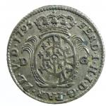 obverse: Zecche Italiane. Parma. Ferdinando di Borbone. 1760-1802. 10 soldi 1795. MI. CNI 144. Peso gr. 2.00. SPL.*