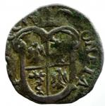 obverse: Zecche Italiane. Passerano. Anonime dei Radicati. 1581-1598. Parpagliola. MI. MIR 907. CNI 17/18. Peso gr. 2.24. Diametro mm. 20.00. BB+. RR.