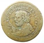 obverse: Zecche Italiane. Perugia. Pio VI. 1775-1799. Sampietrino 1796 da 2 baiocchi e mezzo. AE. Bel BB+.