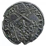 reverse: Zecche Italiane. Piacenza. Paolo III. 1534-1549. Grosso con S. Giustina. AG. M. 179. Peso 1,57 gr. qSPL.*