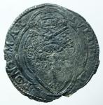 obverse: Zecche Italiane. Roma. Giulio II. 1503-1513. Giulio. AG. M.27. Bel BB. Patina Nera. R.