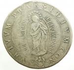 reverse: Zecche Italiane. Roma. Urbano VIII. 1623-1644. Piastra 1643 A. XX. AG. M. 31. Berm. 1710. CNI 436. Peso gr. 31.66. BB. R.
