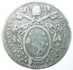 reverse: Zecche Italiane. Roma. Stato Pontificio. Pio VI. 1775-1799. Scudo Romano 1780. Ag. Peso 26,11 gr. Diametro 41 mm. Muntoni 17. qBB. §