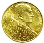 obverse: Zecche Italiane. Roma. Pio XI. 1922-1938. 100 lire 1930. AU. Gig.2. SPL+. RR.