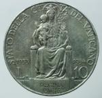 obverse: Zecche Italiane. Roma. Pio XI. 1922-1939. 10 lire 1933-34. Ar. BB+§