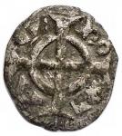 obverse: Zecche Italiane -Verona.Federico II (1218-1250).Denaro.gr 0,34.NC.MI.BB+.§