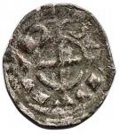 reverse: Zecche Italiane -Verona.Federico II (1218-1250).Denaro.gr 0,34.NC.MI.BB+.§